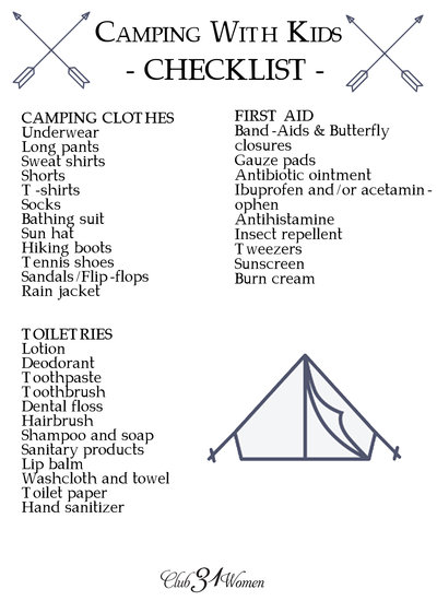 What to Know and Bring If You're Camping With Kids - Page 2