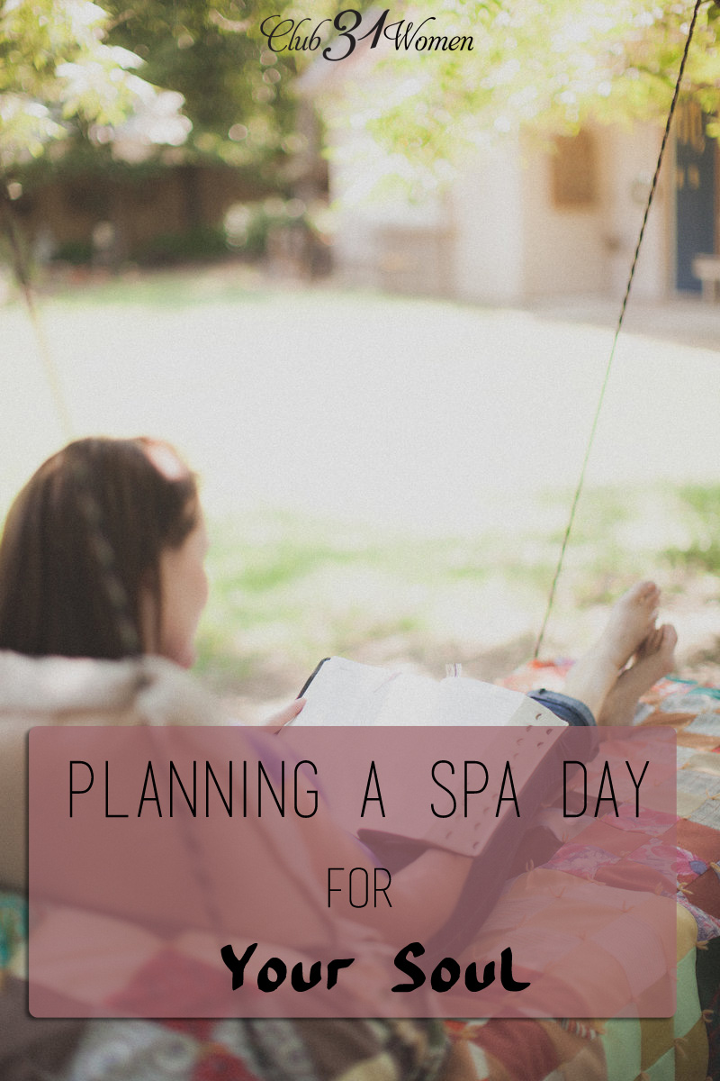 Planning a Spa Day for Your Soul