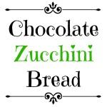 Chocolate Zucchini Bread | Club 31 Women | club31women.com | #zucchini