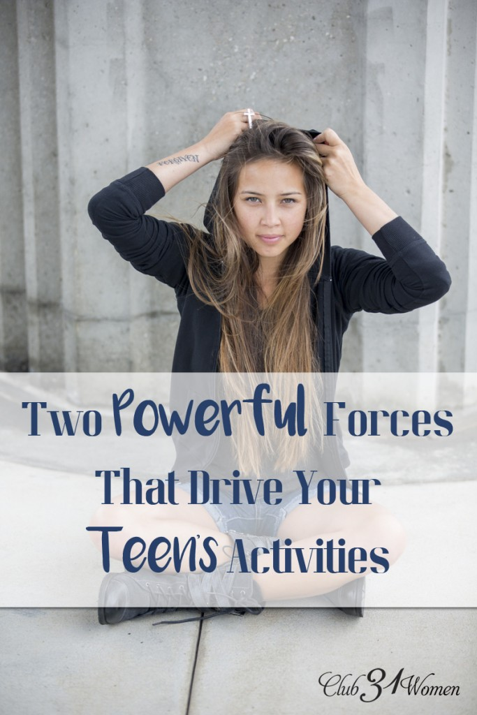 Two Powerful Forces That Drive Your Teen's Activities