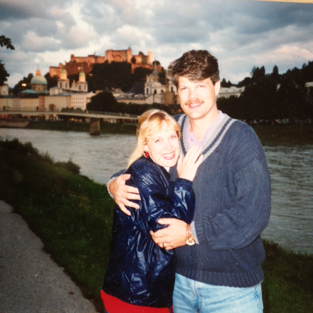 Matt and Lisa in Salzburg
