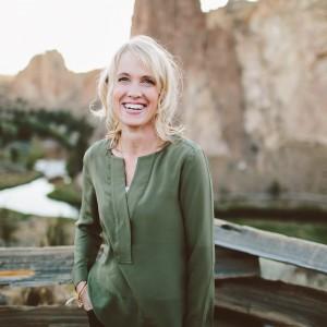 Lisa Jacobson at Smith Rock