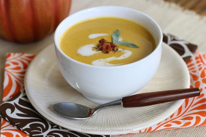 Pumpkin-Soup-with-Crispy-Bacon-Bits