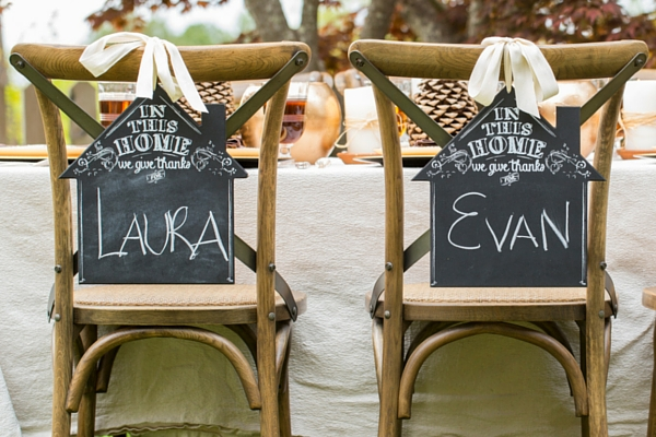 In This Home, We Give Thanks Chalkboard