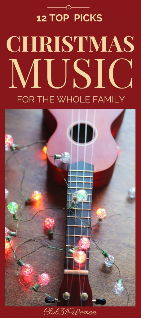 12 Top Picks - Christmas Music for the Whole Family