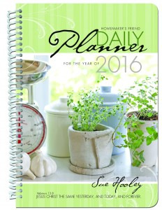 Homemaker's Friend Daily Planner 2016
