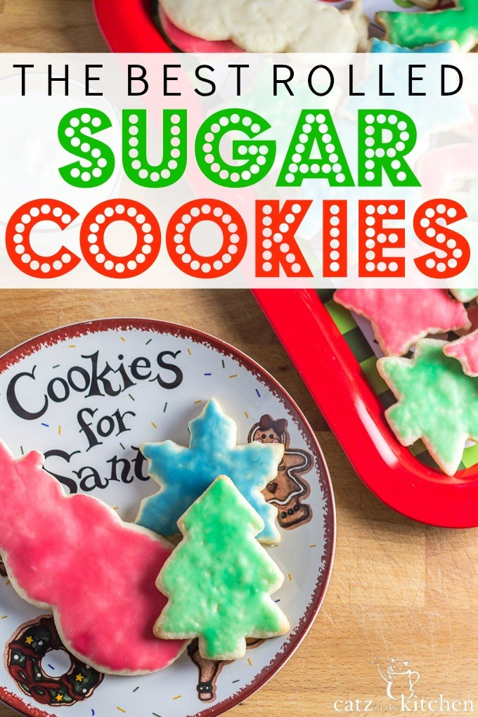 The Best Rolled Sugar Cookies | Club 31 Women | club31women.com | #Christmas #cookies