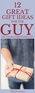 12 Great Gift Ideas for the Guy On Your Christmas List