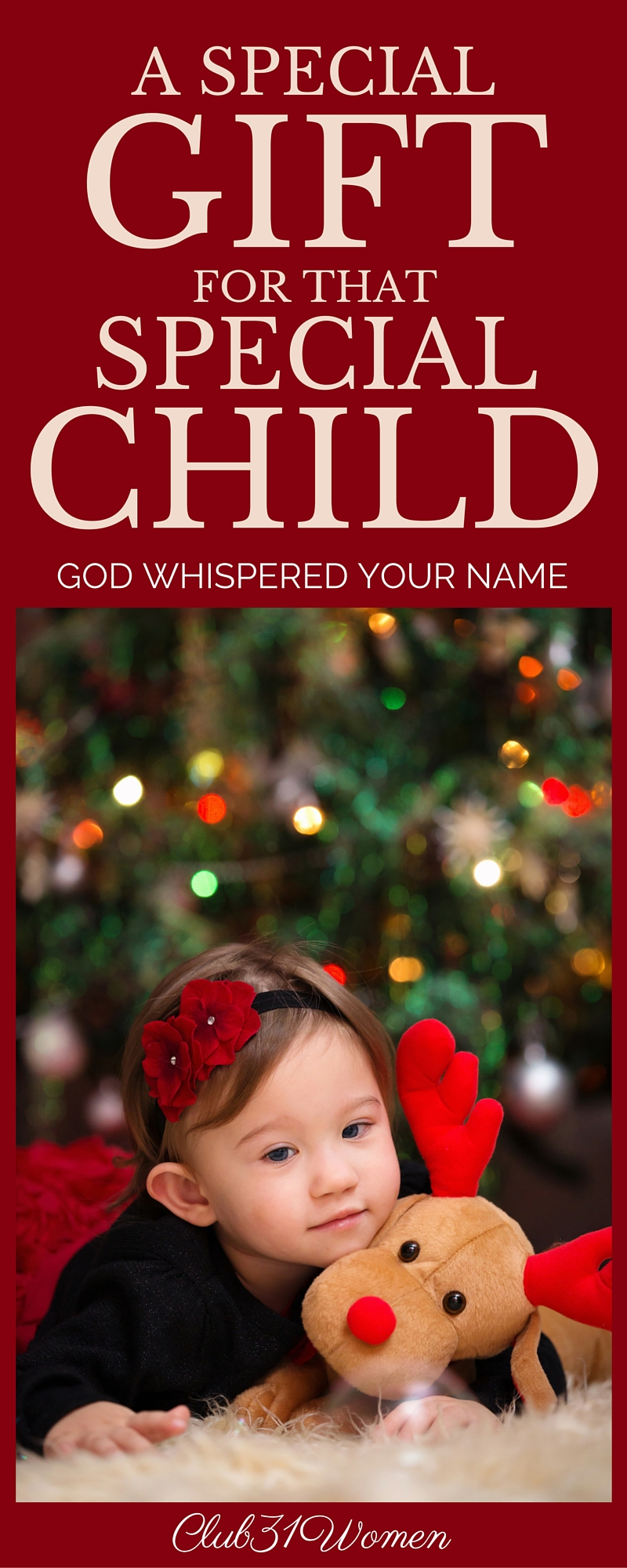 A Special Gift For That Special Child {God Whispered Your Name}