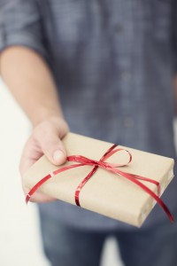 Guy with Gift