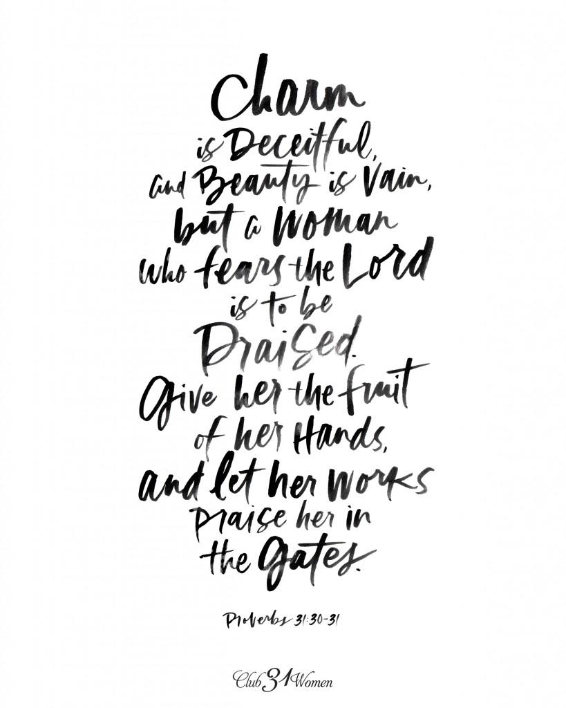 Proverbs 31_30_31