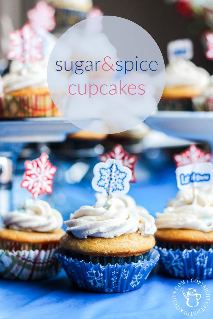 Sugar & Spice Cupcakes | Club 31 Women | club31women.com | #Christmas #Cupcakes