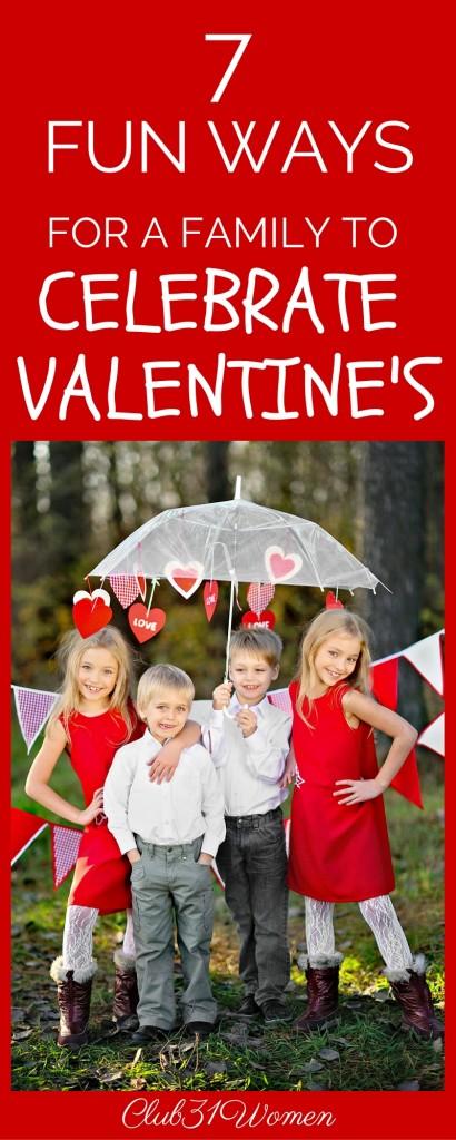 7 Fun Ways to Celebrate Valentine's Day as a Family