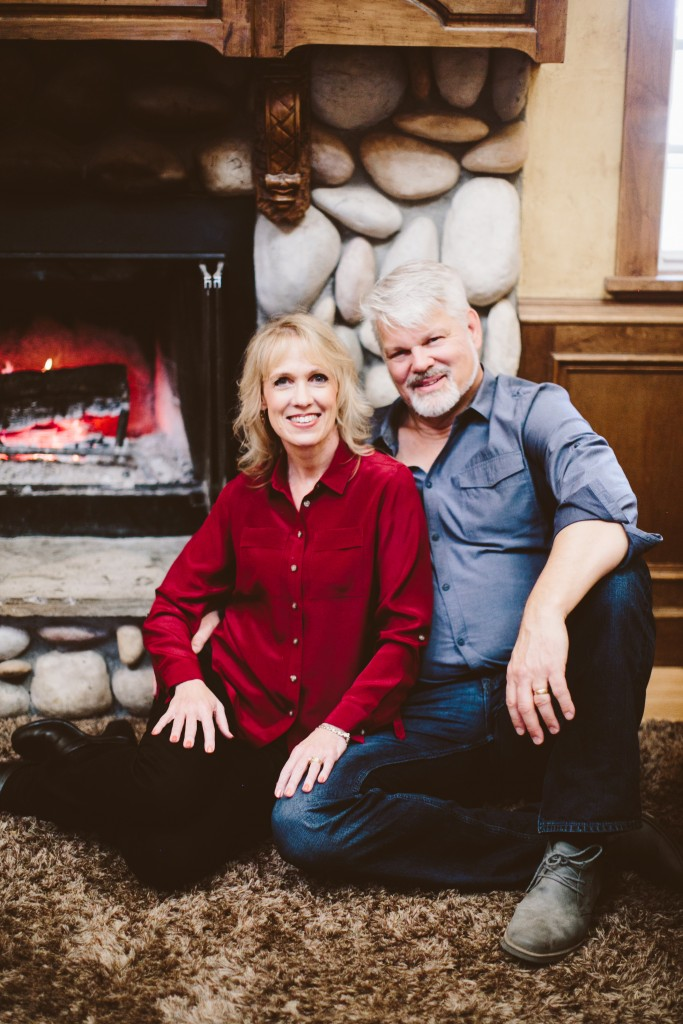 Matthew and Lisa Jacobson in Winter