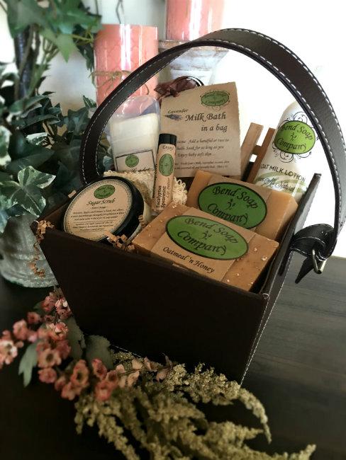 Bend Soap Company Basket