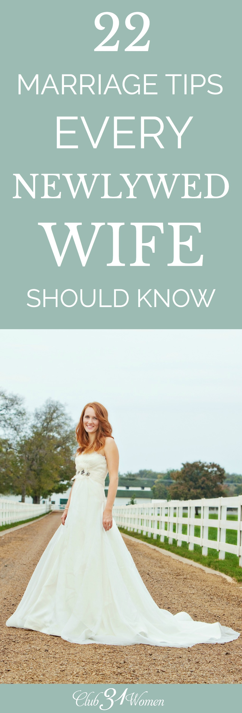 When entering marriage, it's important to recognize being intentional matters to keep a marriage strong. A few marriage tips can be very helpful! via @Club31Women