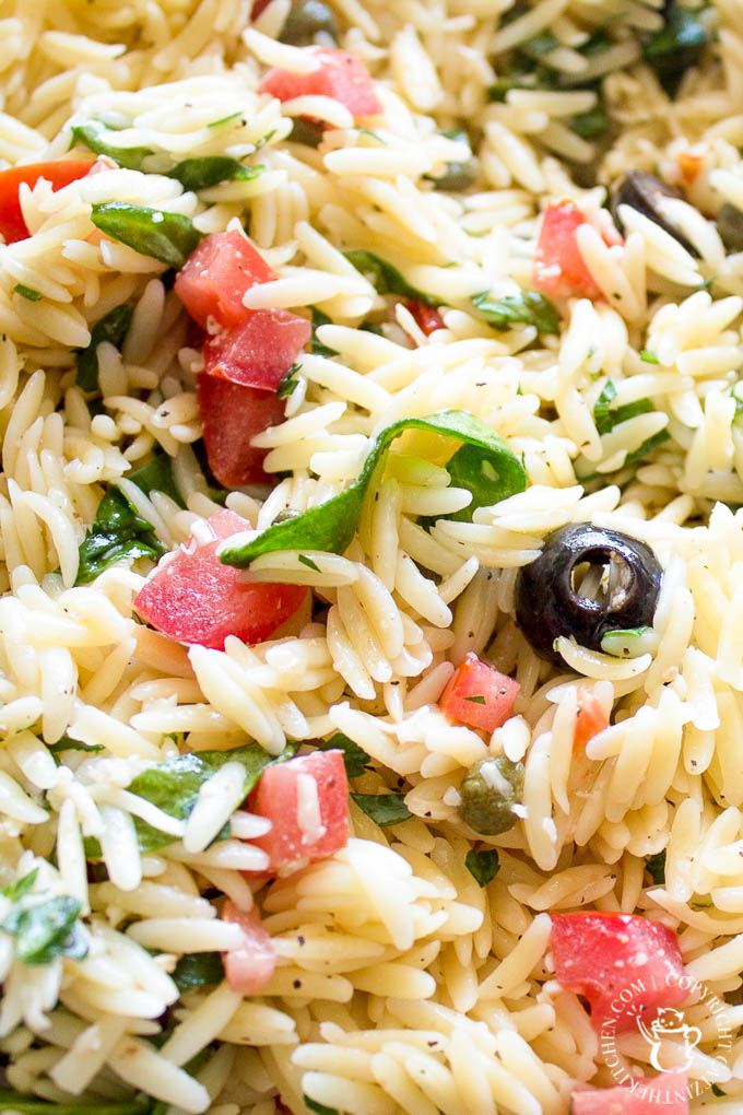 Chilled Orzo Salad-4