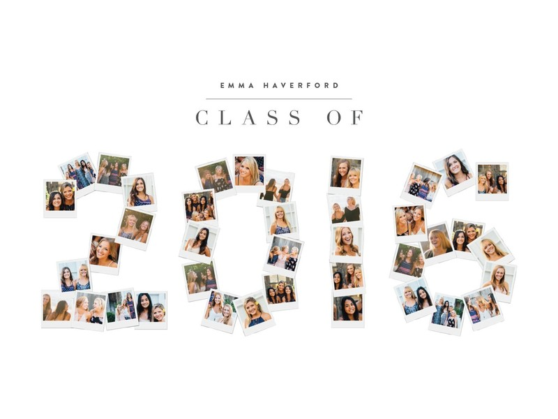Minted Graduation Gift Class of 2016