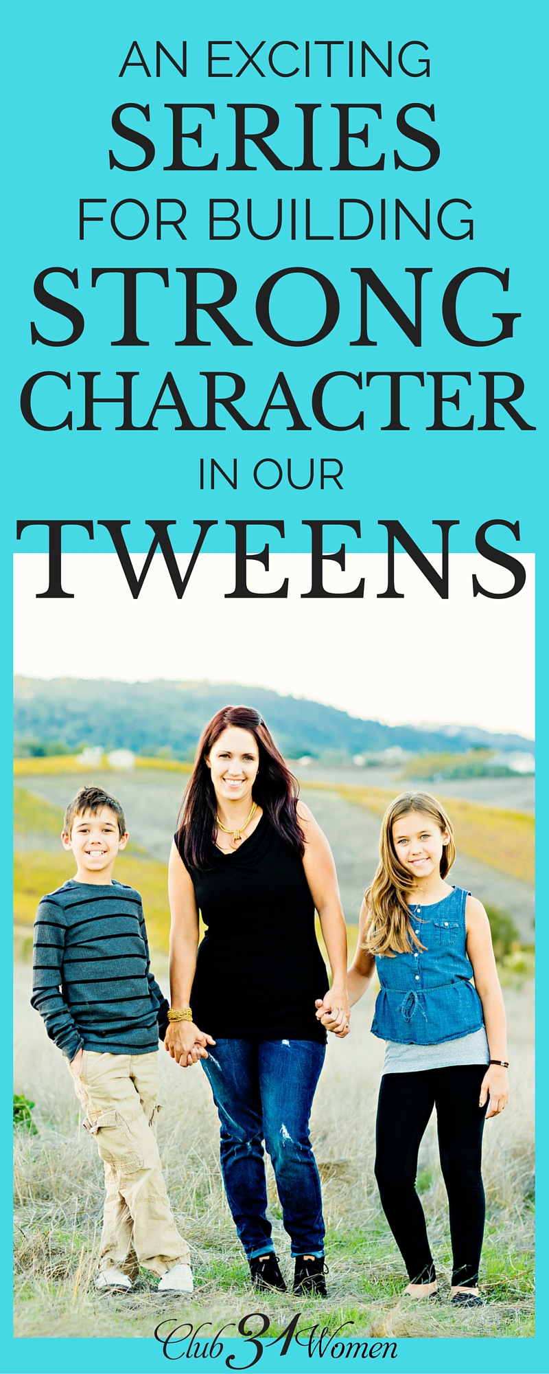 Looking for a character-building resource for your tweens? Here's one of my favorites for encouraging, inspiring, and entertaining those tween-age kids! via @Club31Women