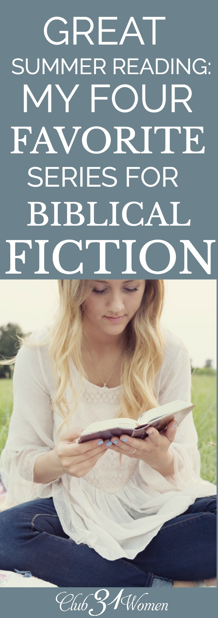 Sometimes engaging in bible stories can become stale or hard to understand. Why not try a fictional version to bring you deeper into the story? Try these! via @Club31Women