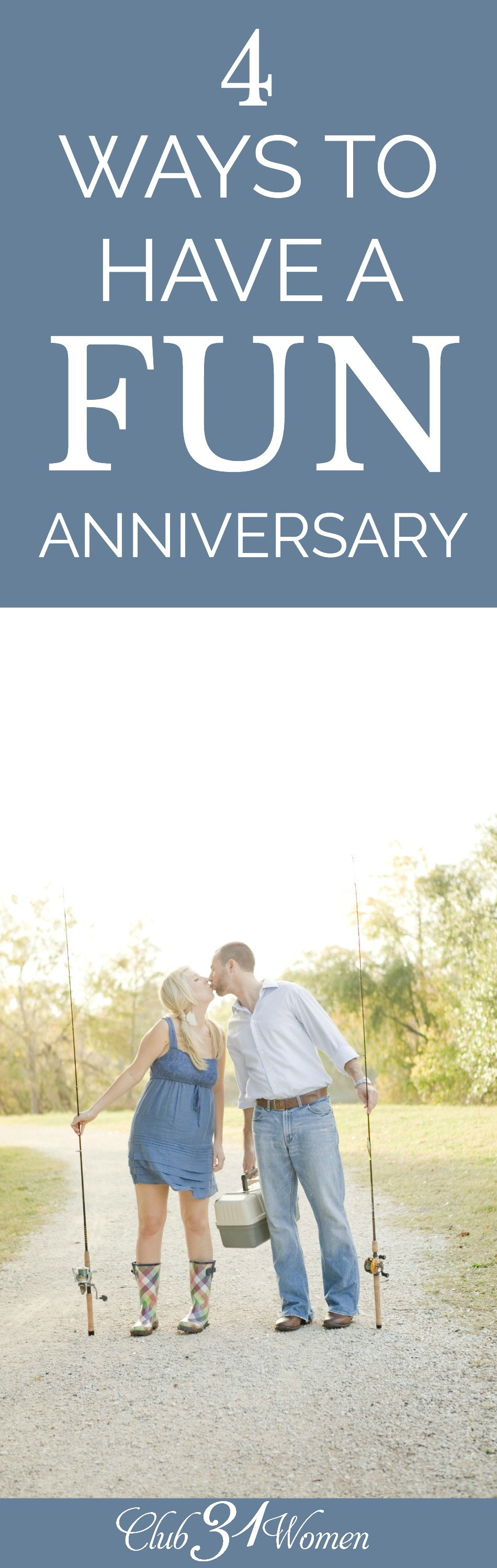 Having a fun anniversary doesn't need to be expensive or complicated. With a little creativity and planning, you can make the next celebration your best yet! via @Club31Women