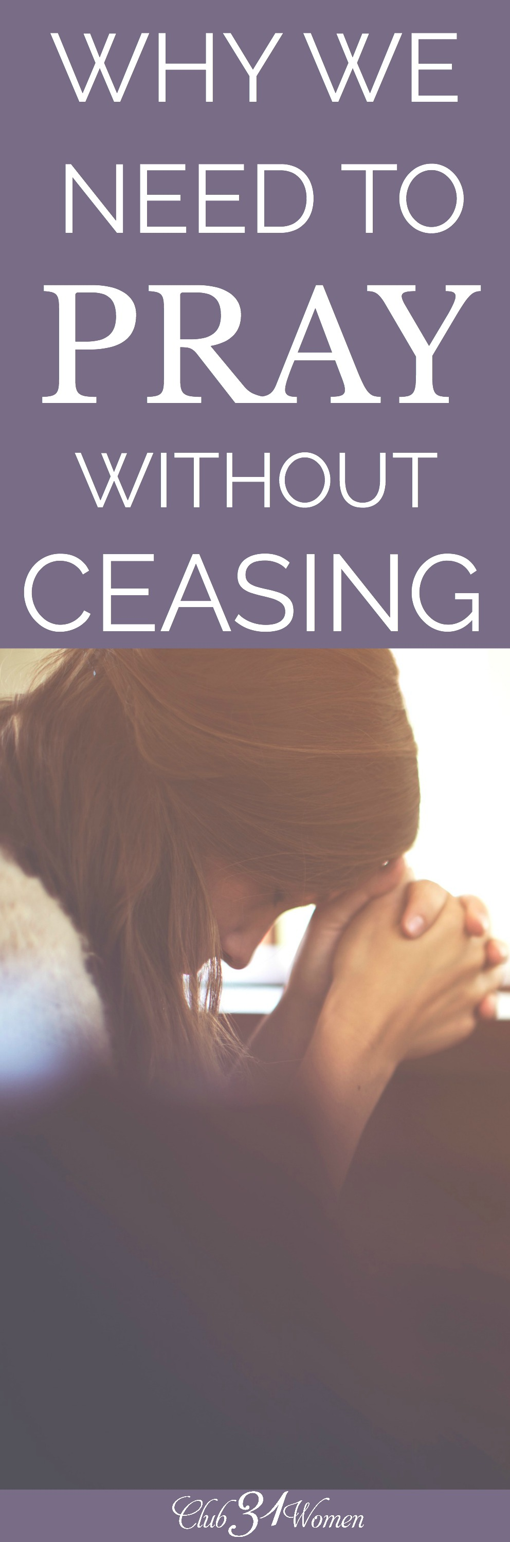 We often forget what God can do when His people pray. Even through the everyday mundane, He wants us to go to Him in prayer and lay our burdens down.  via @Club31Women