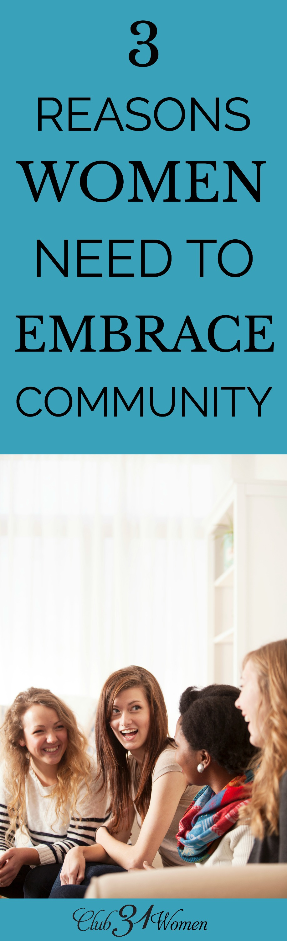 Women need community but what do you do when you've been hurt by community in the past? Is there a way to heal and embrace community again? via @Club31Women
