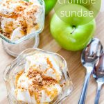 Apple Crumble Sundae