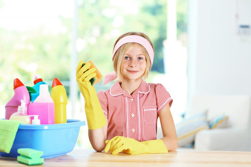 club31women_Getting Your Kids Happily Involved in Cleaning House