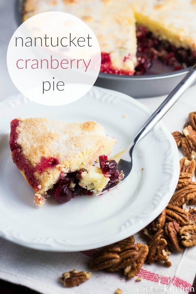 Nantucket Cranberry Pie - Club 31 Women