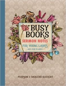 busy-books-sermon-notes-for-young-ladies