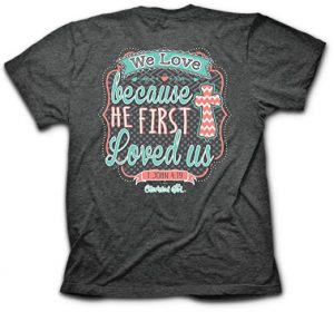 we-love-because-t-shirt