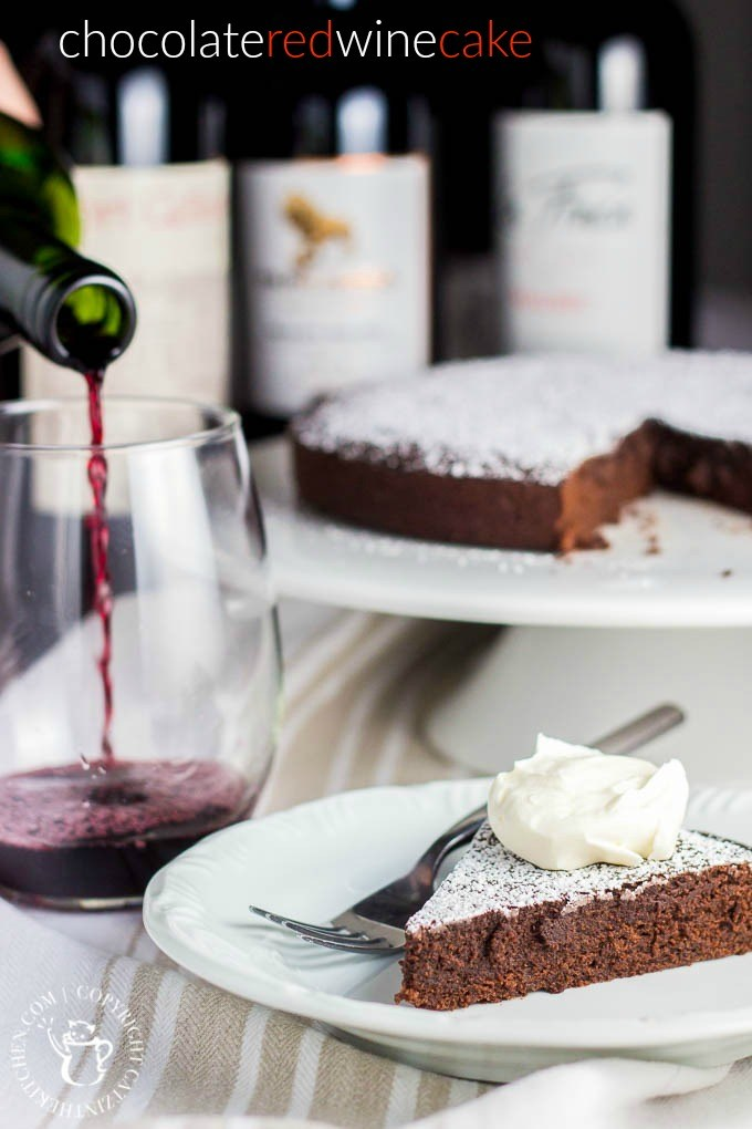 If you are looking for a delightful dessert for any occasion, this chocolate red wine cake is sure to satisfy your craving! via @Club31Women