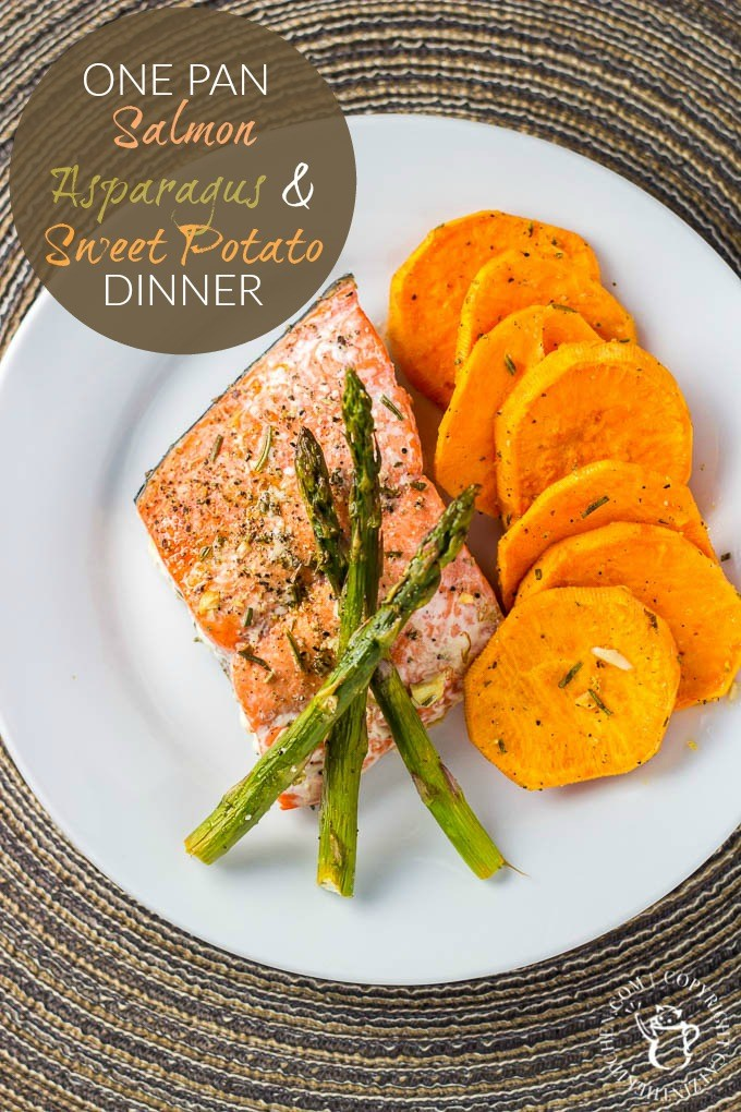Salmon is so good for you and it's a wonderful addition to your weekly or monthly dinner menu. Side it with a sweet potato and vegetable and it's a win! via @Club31Women