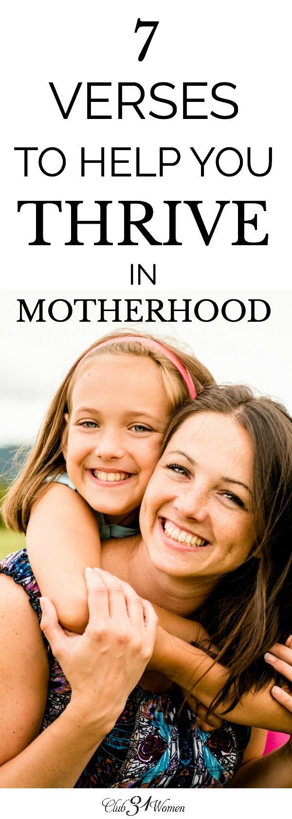 Are you struggling in motherhood? Do you feel like you can't keep it all together and finish the race well? The good news is, you don't have to. via @Club31Women