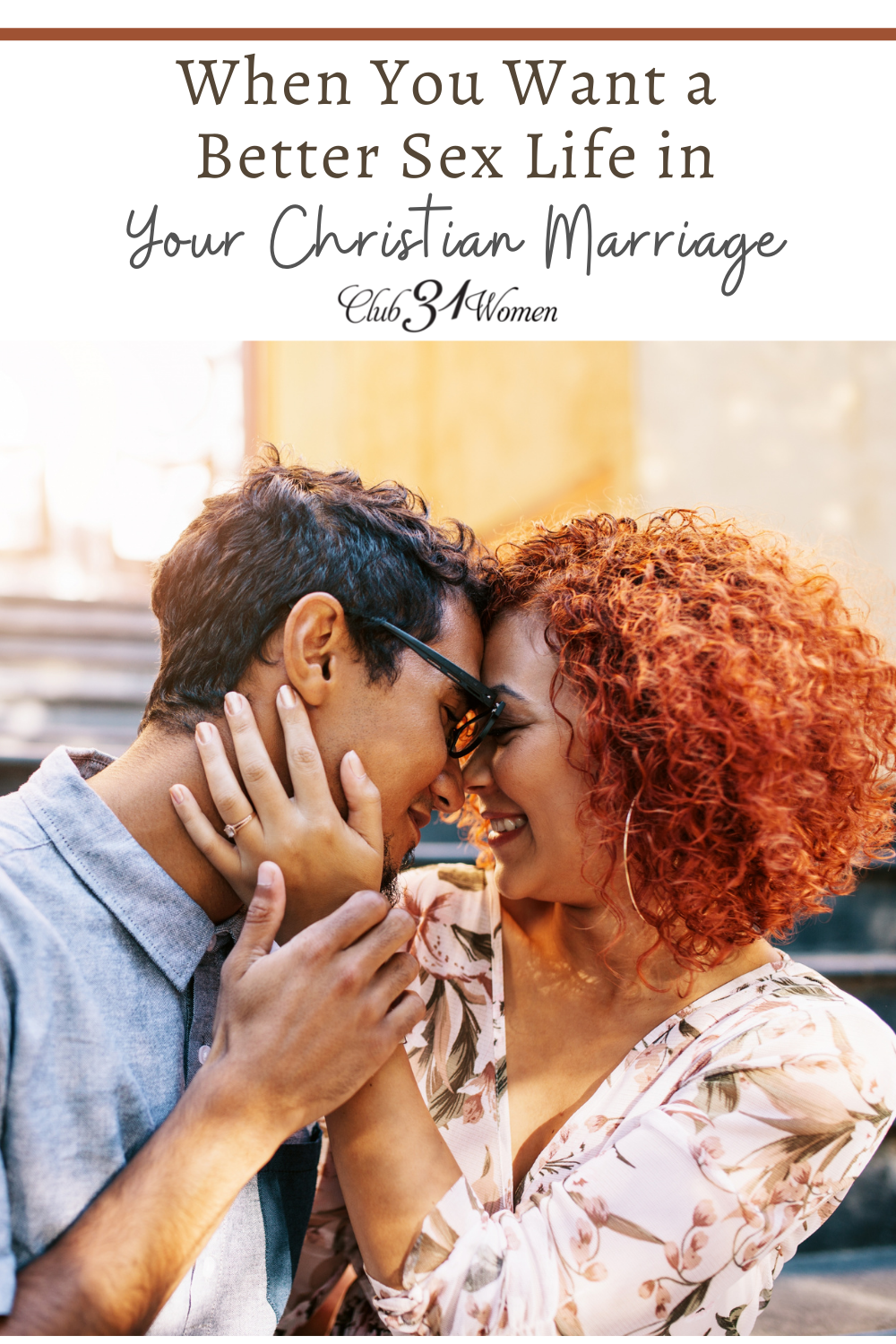 Sex plays such a powerful role in marriage. Here both a husband and wife share how to enjoy a closer and better sexual relationship. via @Club31Women