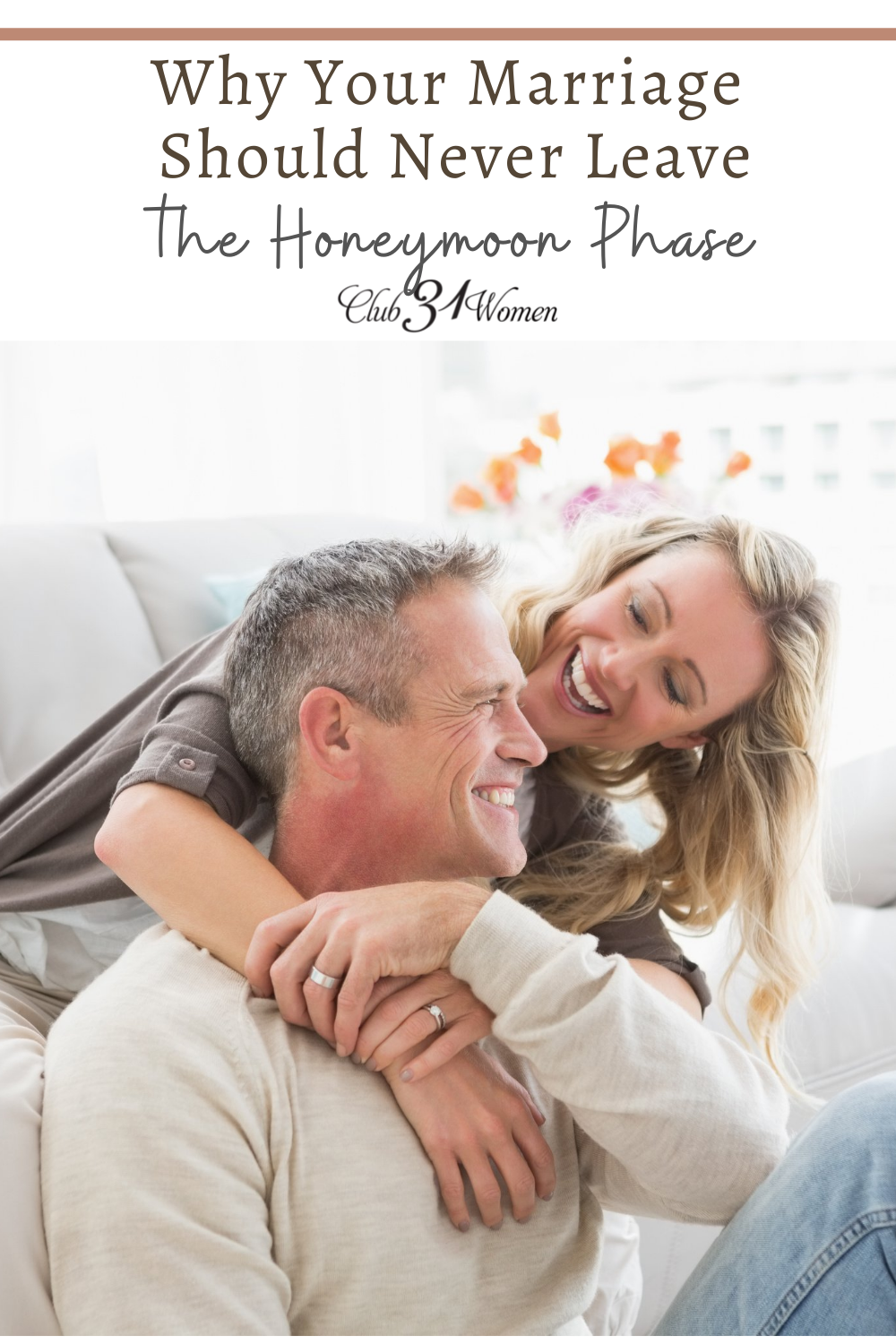 Marriages are struggling hard. We need to get back to that honeymoon phase and remember to cherish one another. via @Club31Women