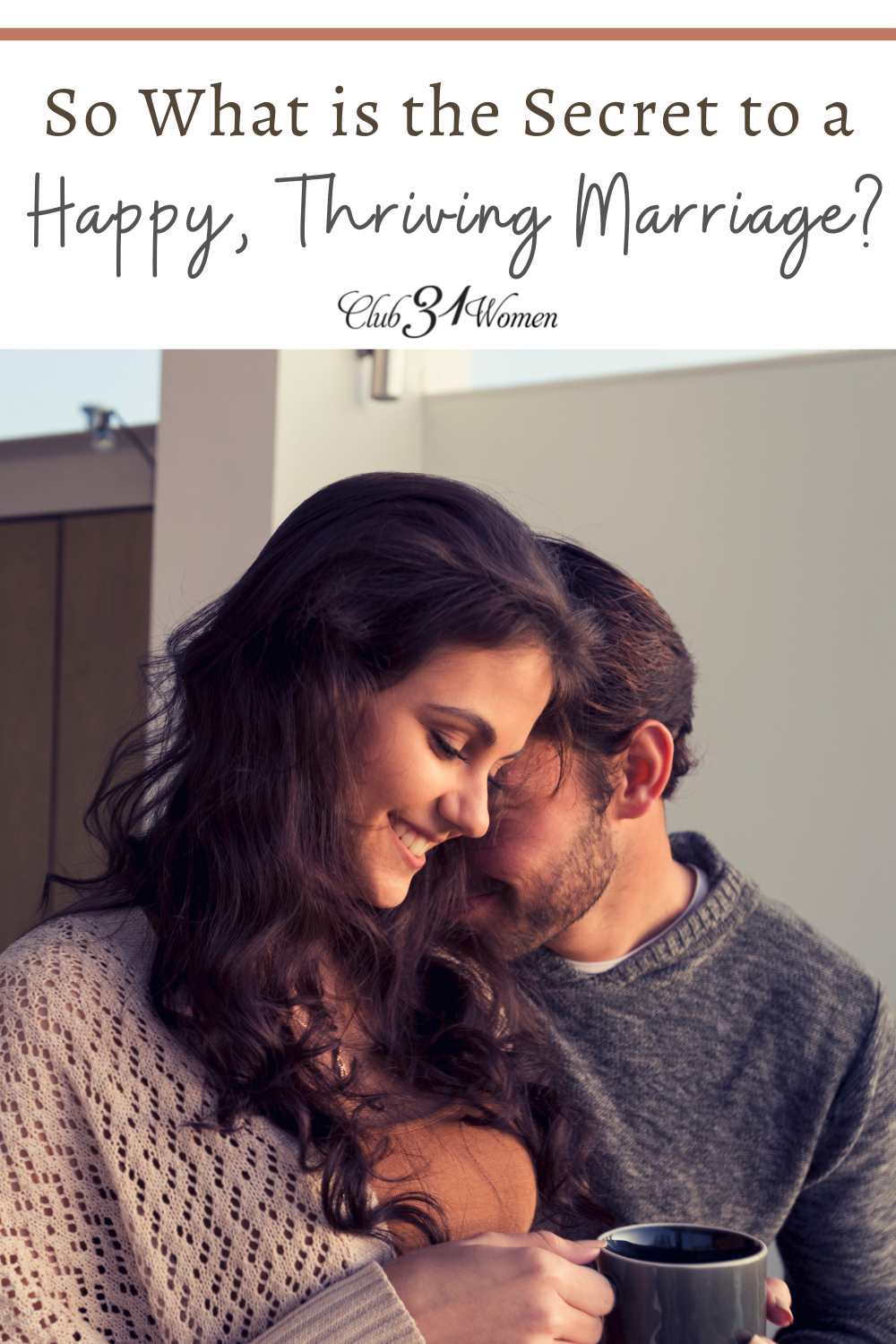 Having a thriving marriage doesn't need to be all about work. What if there was another secret to turning that spark to flame? via @Club31Women
