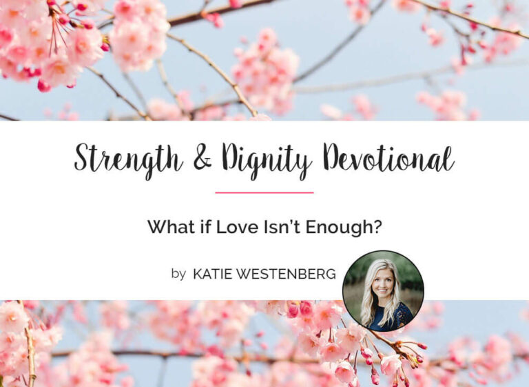 What if Love Isn't Enough?