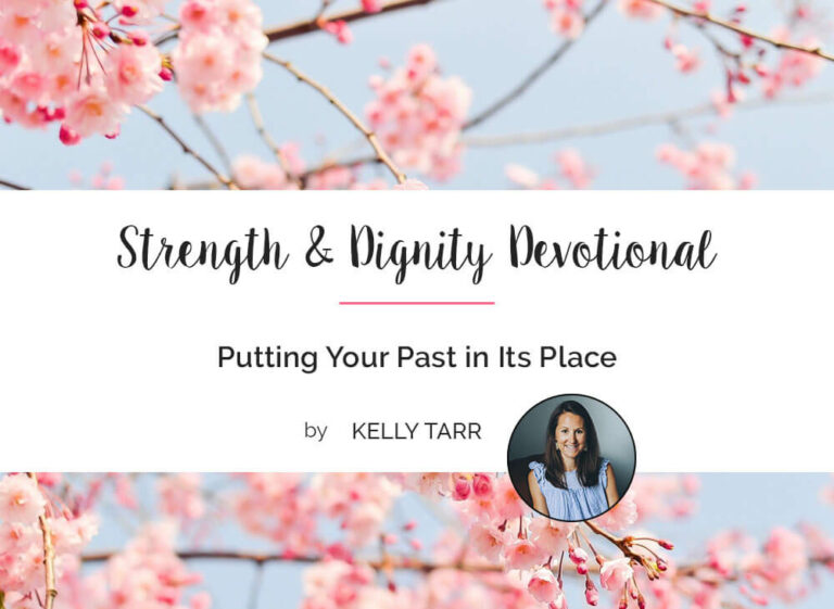 Putting Your Past in Its Place