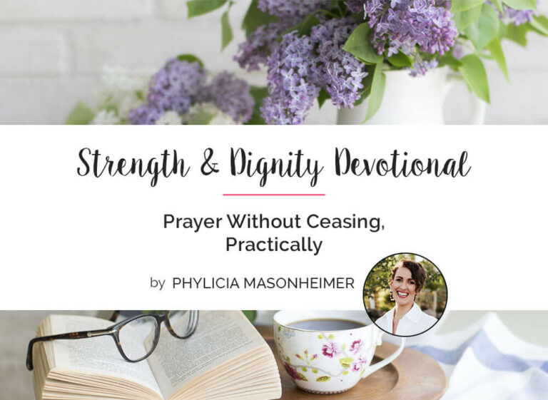Prayer Without Ceasing, Practically
