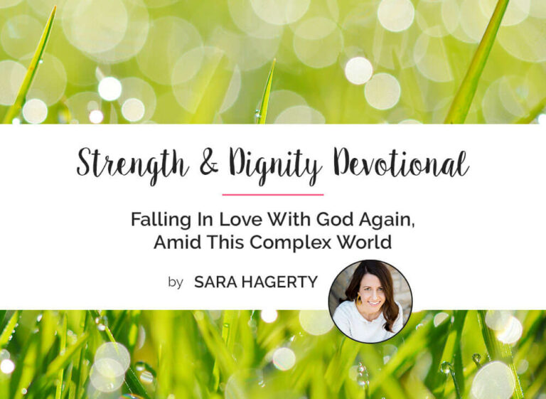 Falling In Love With God Again, Amid This Complex World