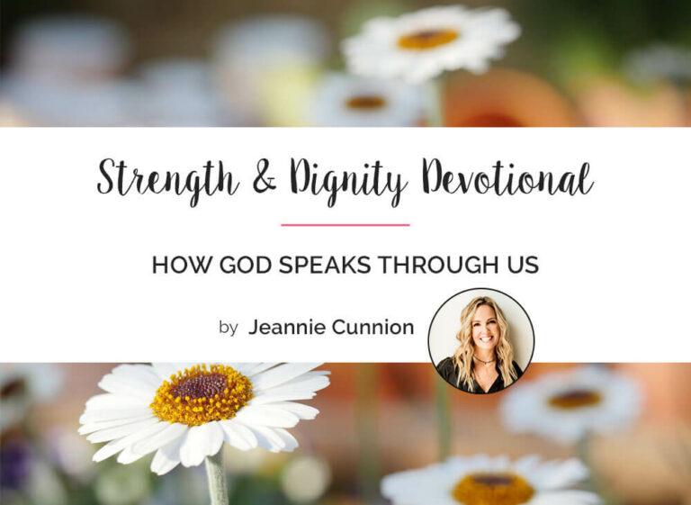 How God Speaks Through Us