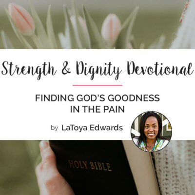 Finding God's Goodness in the Pain