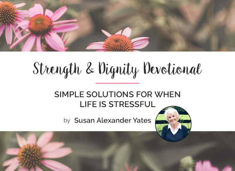 Simple Solutions for When Life is Stressful