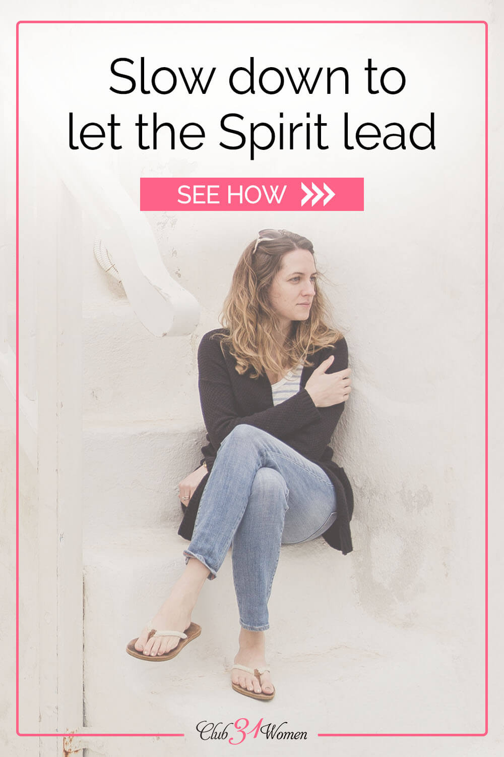 When you slow down and hear the wisdom of the Spirit, it can help replace controlling thoughts with the heart of God and His thoughts. via @Club31Women