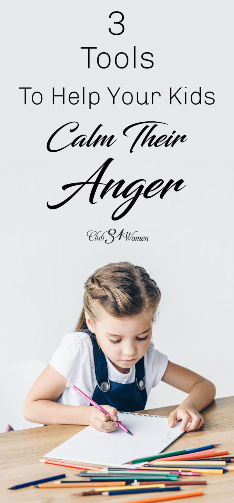 The more children learn to think through how to calm themselves when anger is not involved, the more capable they will be of calming themselves when it is. via @Club31Women