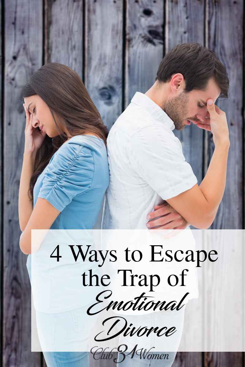 Have you ever been so hurt you've closed your heart to your husband? Created a safe distance? Here's what you can do if you've fallen into that trap... via @Club31Women