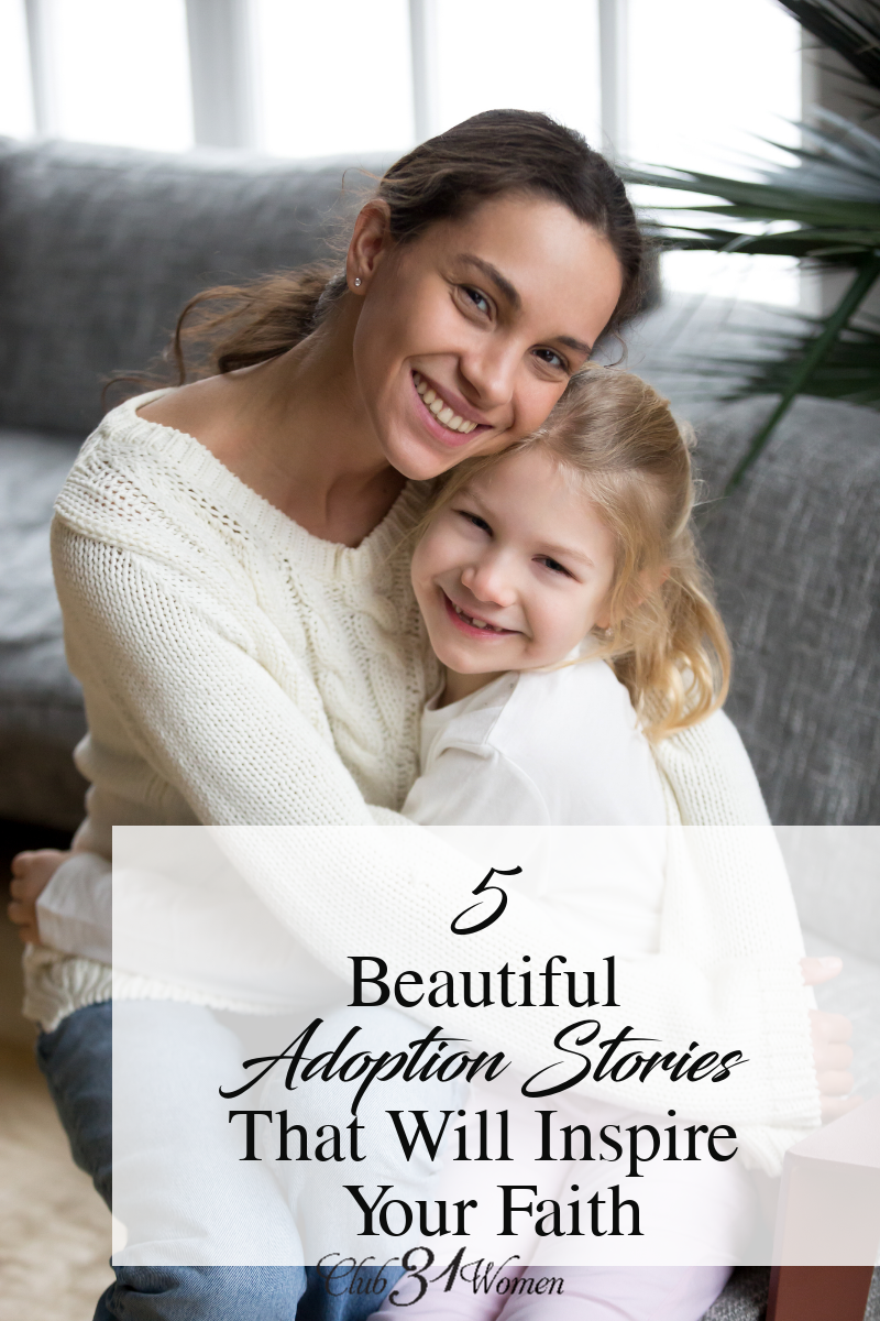 """Adoption"" is more than just the legal paperwork that changes names and birth certificates. Check out this list of inspiring adoption stories. via @Club31Women"