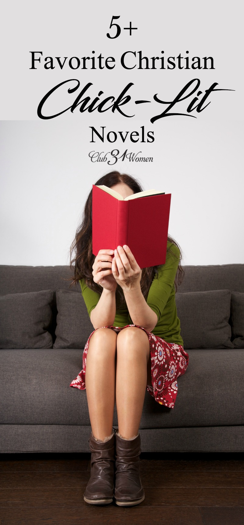 Looking for some new book titles? If you enjoy light, but pleasing, novels—these chick-lit favorites might be the perfect books for you this season. via @Club31Women